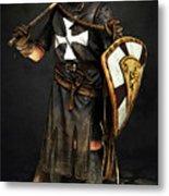 Crusader Warrior - 02 Metal Print