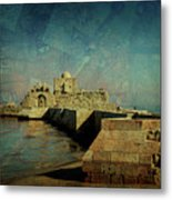 Crusaders Sea Castle Metal Print