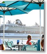 Cruse Float By Metal Print