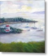Cruz Bay Remembered Metal Print