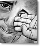Cry Of The Oppressed Metal Print