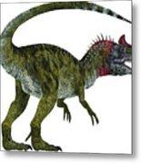 Cryolophosaurus Dinosaur Tail Metal Print