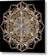 Crystal Ahau 2 Metal Print