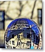 Crystal Ball Project 63 Metal Print