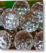Crystal Balls Metal Print