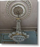 Crystal Beads Metal Print