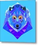 Crystal Bear - 90 Metal Print