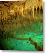 Crystal Cave Hamilton Parish Bermuda Metal Print