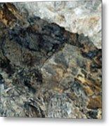Crystal Cave Marble Ceiling Metal Print