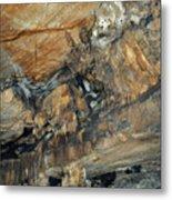 Crystal Cave Marble Portrait Metal Print