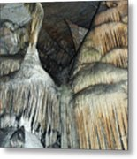 Crystal Cave Portrait Sequoia Metal Print
