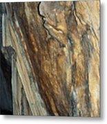 Crystal Cave Walls Metal Print