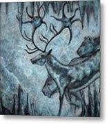 Crystal Cavern Procession Metal Print