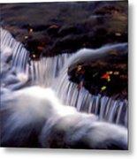 Crystal Falls Metal Print