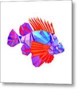 Crystal Fish - 20 Metal Print