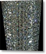 Crystal Ice Metal Print