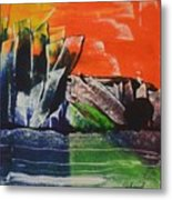 Crystal Quarry Metal Print