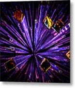 Crystal Reports Metal Print