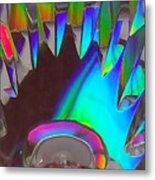 Crystal Teeth Metal Print
