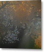 Crystal Tree Top Metal Print