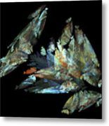Crystalize Metal Print