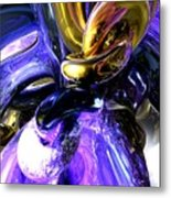 Crystalized Ecstasy Abstract  Metal Print