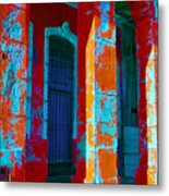 Cuba Architecture Metal Print
