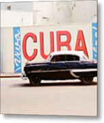 Cuba Car Metal Print