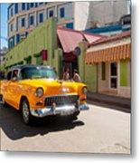 Classic Cuba Cars IIi Metal Print