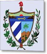 Cuba Coat Of Arms Metal Print