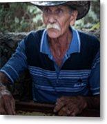 Cuban Domino Player, Manaca Iznaga, Cuba Metal Print