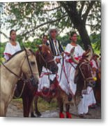 Cuban Entertainment  Metal Print
