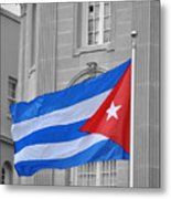 Cuban Flag Metal Print