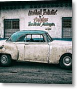 Cuban Pontiac at Territorio Matanzas Metal Print