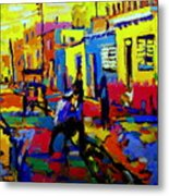 Cuban Village Metal Print