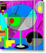 Cubic1 Metal Print