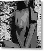 Cubism Series Xvii Metal Print