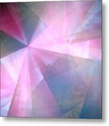 Cubist Background Metal Print