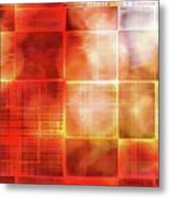 Cubist Metal Print