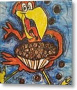 Cuckoo For Cocoa Puffs Metal Print