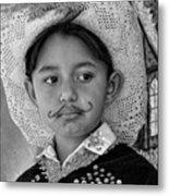 Cuenca Kids 883 Metal Print