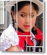 Cuenca Kids 890 Metal Print