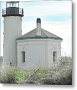 Coquille Lighthouse Metal Print