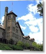Culinary Institute Of America Greystone Metal Print