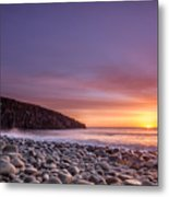 Cullernose Point At Sunrise Metal Print