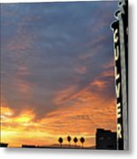 Culver City Marquee Metal Print