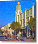 Culver City Plaza Theaters   Metal Print