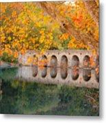 Cumberland Mountain State Park Bridge Metal Print