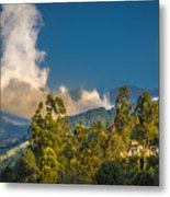 Giant Over The Mountains Metal Print