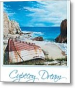 Cupecoy Dream Poster Metal Print